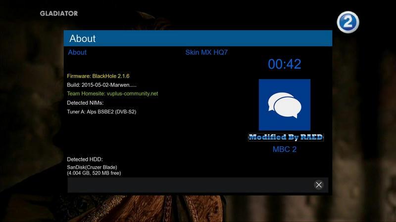 MX-HQ7 (Full HD) - Our Dreambox World - Japhar Sim Forum - http