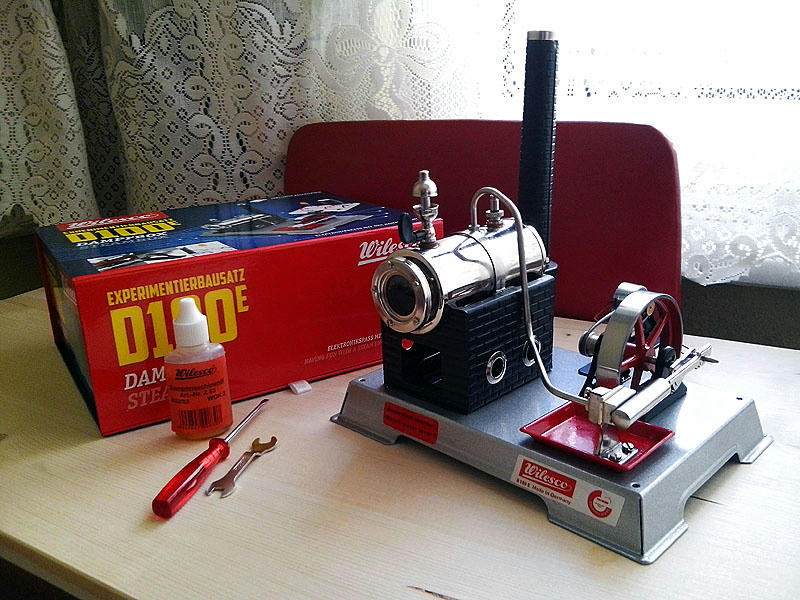 Wilesco D100E Steam Engine 13xaxk5n1y1rvxb6g