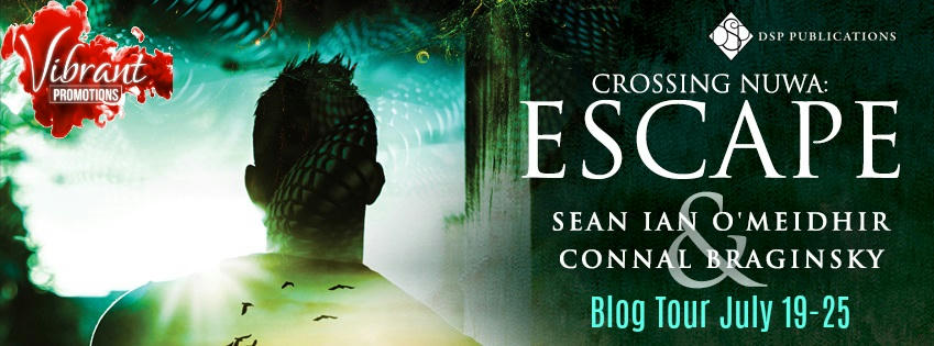 Sean Ian O'Meidhir and Connal Braginsky - Crossing Nuwa Escape Tour Banner