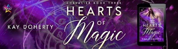 Kay Doherty - Hearts of Magic NineStar Banner