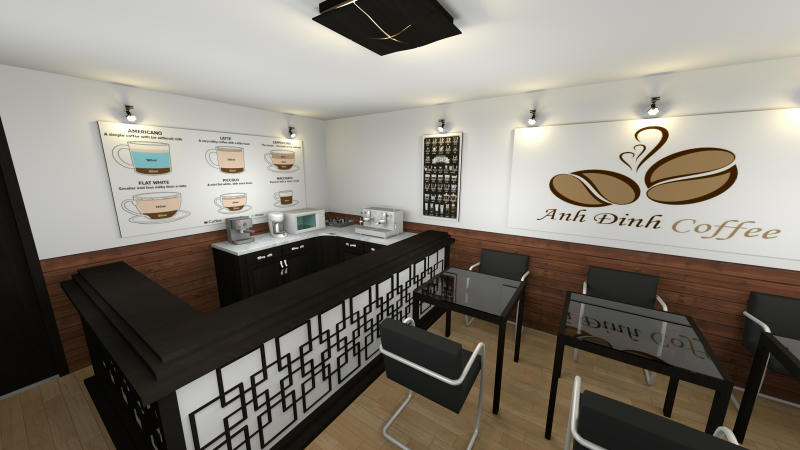 This Is My Design About A Coffee Shop