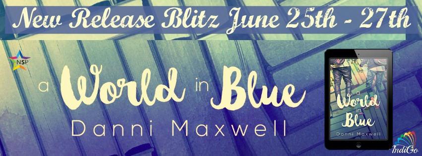 Danni Maxwell - A World In Blue Banner