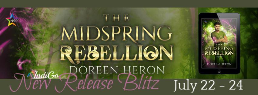 Doreen Heron - The Midspring Rebellion RB Banner