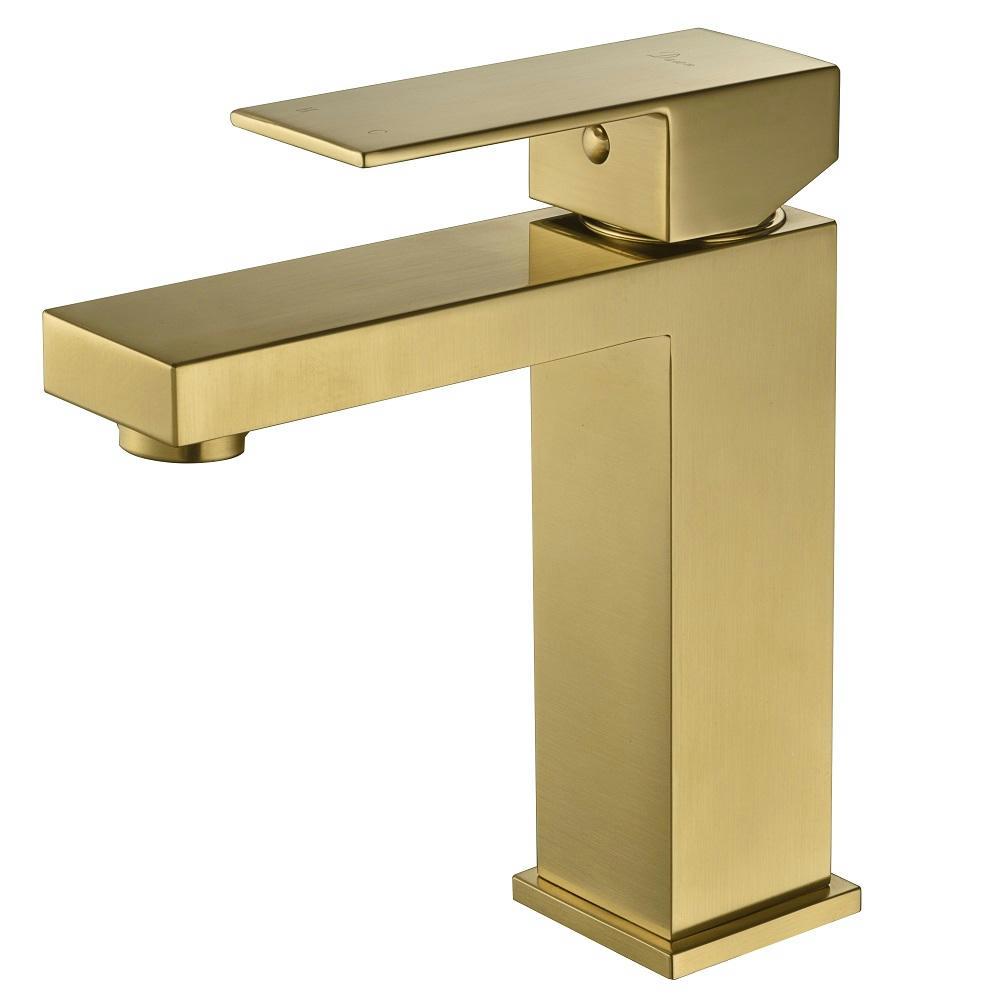 AB75 1229MAG Lavatory Faucet Matte Gold