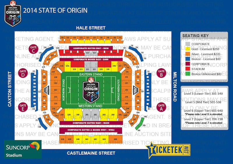 The Idiosyncrasies Of QRLs State Of Origin Ticket Pricing Could See Reams Of Empty Suncorp Seats