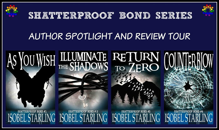 Isobel Starling - Shatterproof Bond SERIES TOUR BANNER