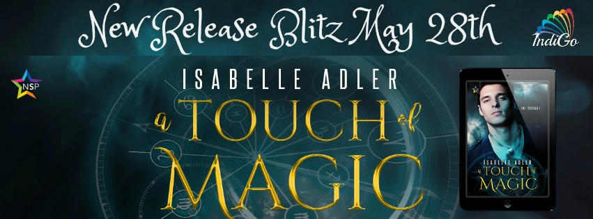 Isabelle Adler - A Touch of Magic Tour Banner