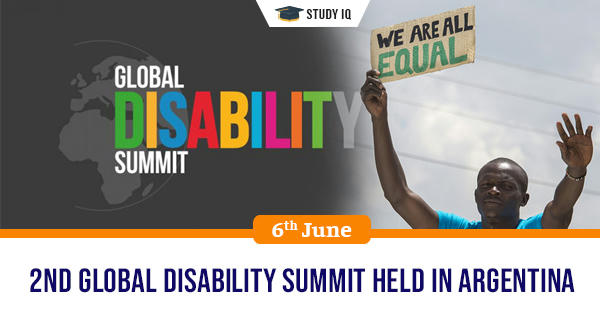 Daily GK, 2nd Global Disability Summit Held In Argentina
