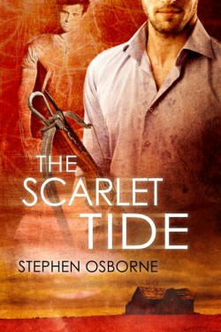 Stephen Osborne - The Scarlet Tide Cover