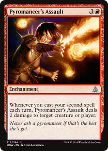 Pyromancer's Assault
