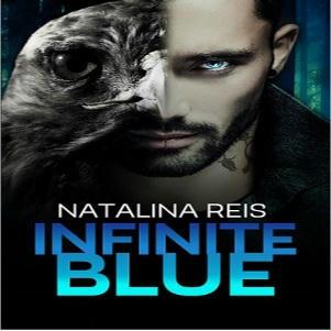 Natalina Reis - Infinite Blue Square
