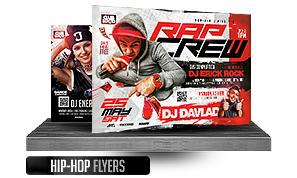 DJ Tour Dates Flyer Template - 18