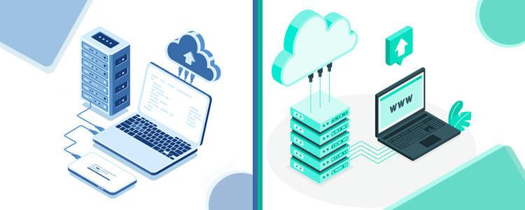 perbedaan cloud hosting dan cloud computing