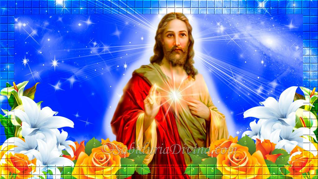 Sagrado Corazon de Jesús rojo