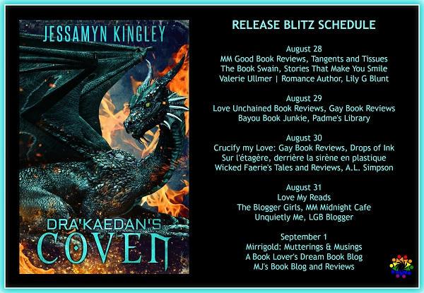 Jessamyn Kingley - Dra'Kaedan's Coven COVEN SCHEDULE