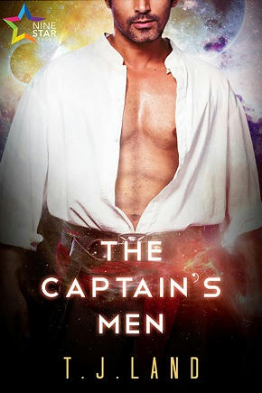 T.J. Land - The Captain's Men Cover s