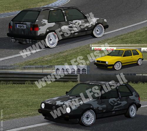 XF - Volkswagen Golf MK2 GT