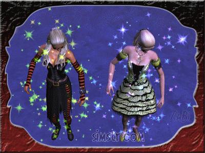 The Sims 2 Apartment Life Apartman Hayatı Gif Sim turn to Witch Normal Sim'den Cadı'ya Dönüşme
