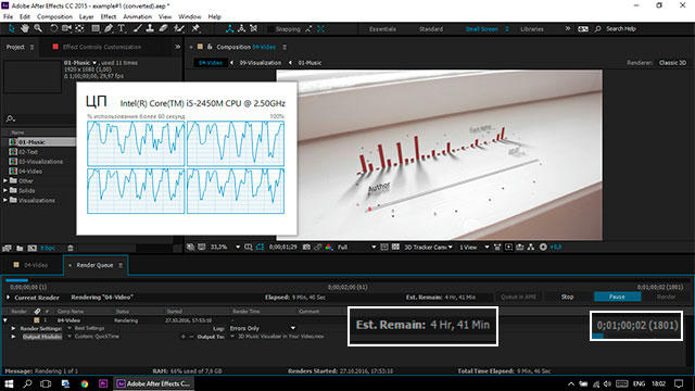 Videohive 3D Music Visualizer in Your Video v1 5 » GfxStudy