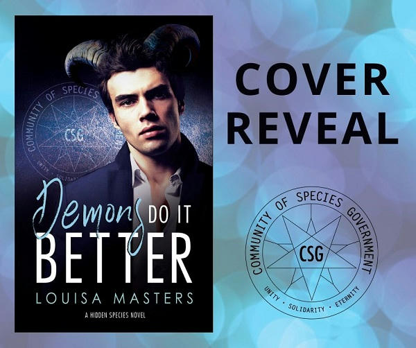 Louisa Masters - Demons Do It Better Cover Reveal