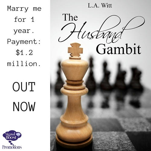 L.A. Witt - The Husband Gambit iNSTApROMO