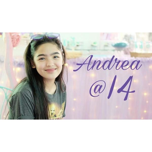 Andrea @14 Highlights 💜