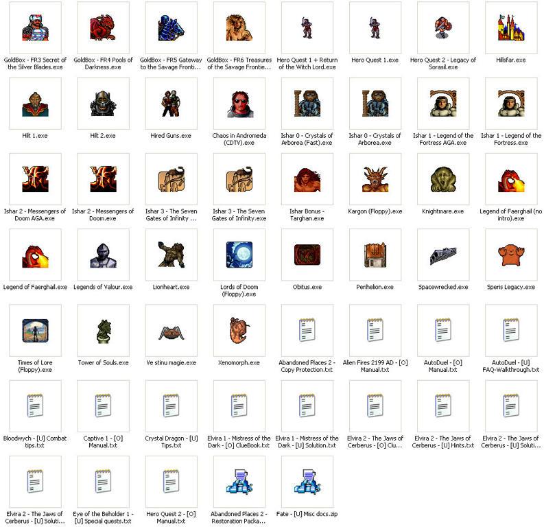 Amiga Dungeoneering Collection | rpgcodex > jest pełna