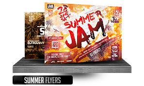 DJ Tour Dates Flyer Template - 17