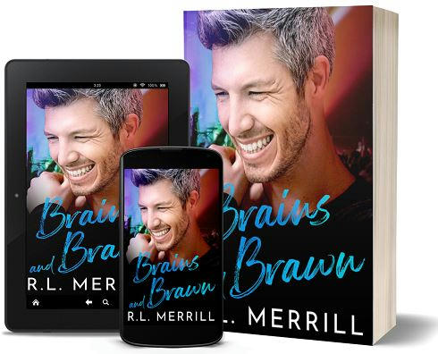R.L. Merrill - Brains & Brawn 3d Cover 83jfnm