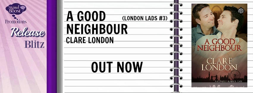 Clare London - A Good Neighbour RB Banner
