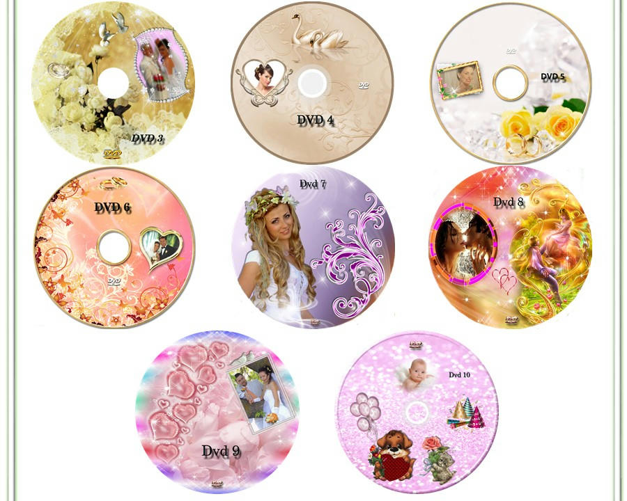 los mejores diseños profecionales en portadas para dvd