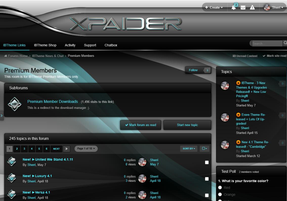 قالب Xpaider