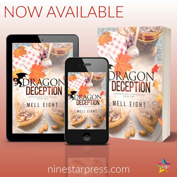 Mell Eight - Dragon Deception Now Available