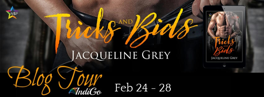 Jacqueline Grey - Tricks & Bids Tour Banner