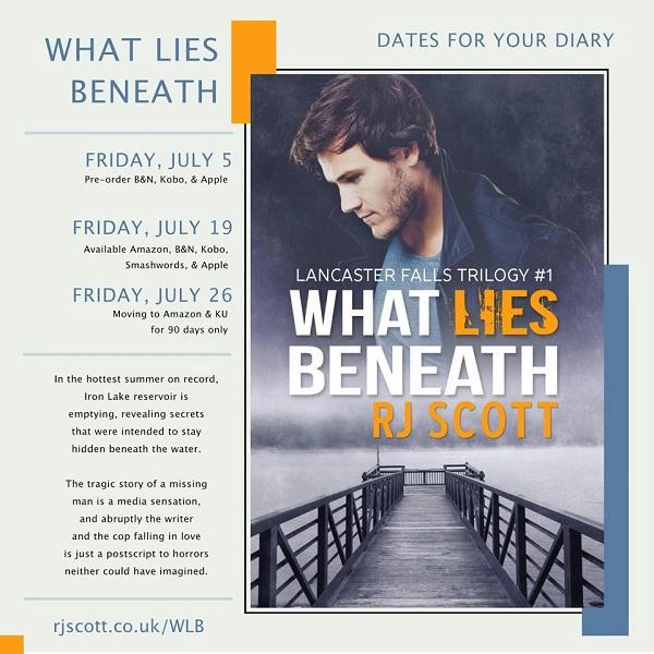 R.J. Scott - What Lies Beneath Dates