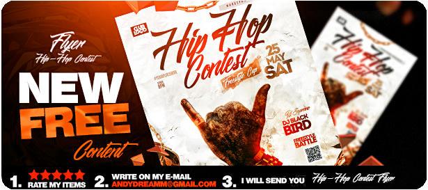 DJ Tour Dates Flyer Template - 27