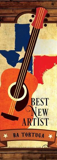 B.A. Tortuga - Best New Artist Bookmark