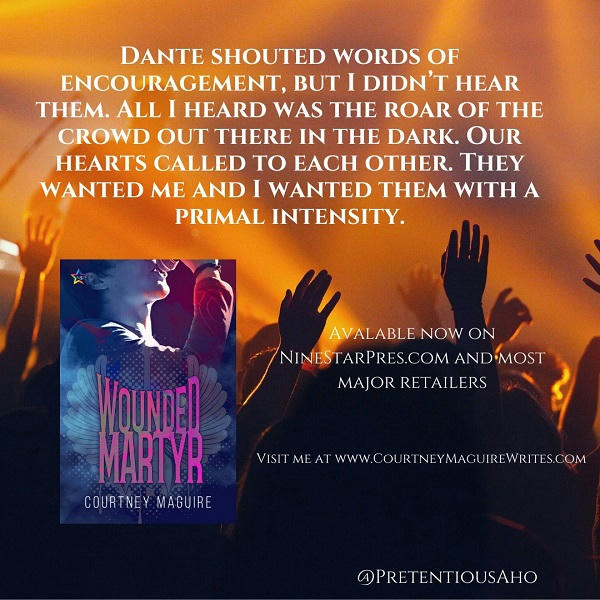 Courtney Maguire - Wounded Martyr Promo