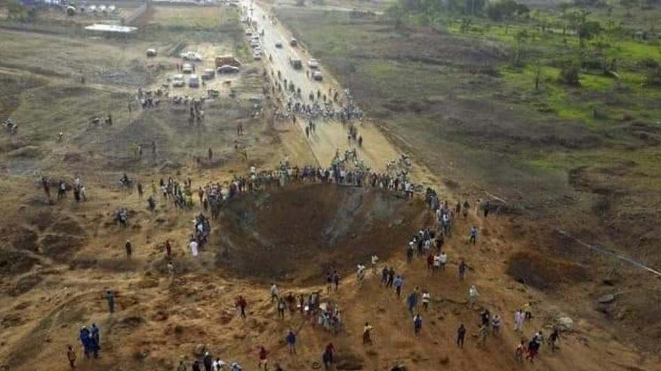 La Fake News sobre la caída de un meteorito gigante en Nigeria