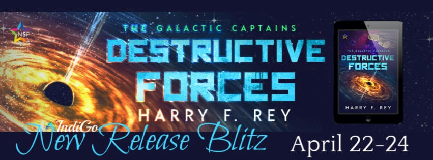 Harry F. Rey - Destructive Forces RB Banner