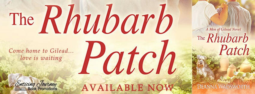 Deanna Wadsworth - The Rhubarb Patch RB banner