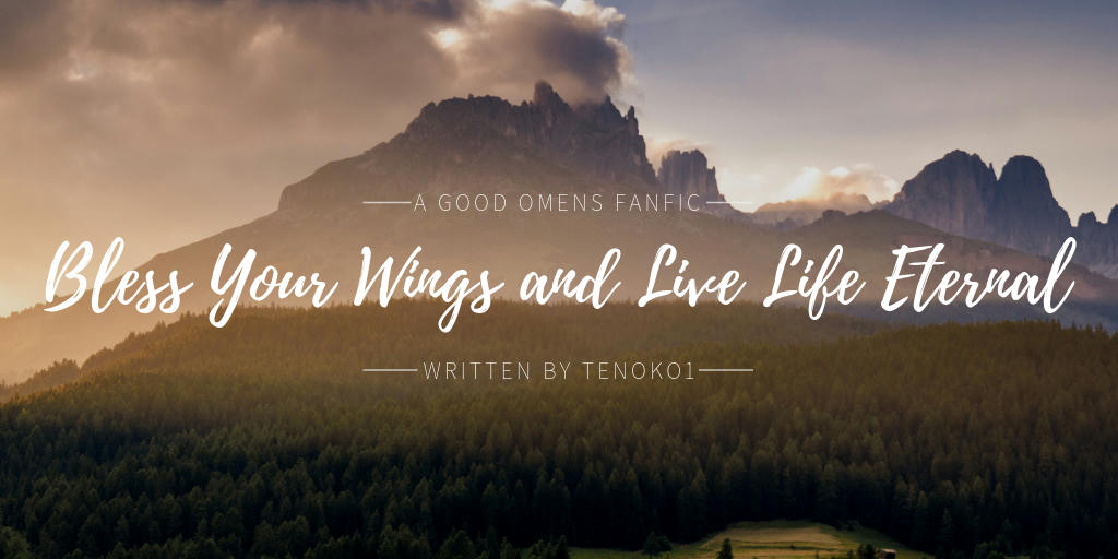 Bless Your Wings and Live Life Eternal - Tenoko1 - Good Omens - Neil