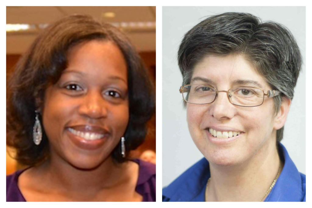 Valerie Cordero and Susan Weinstein are interim co-executive directors at Families for Depression Awareness