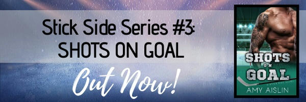 Amy Aislin - Shots On Goal New Release Banner