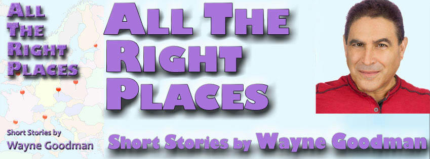 Wayne Goodman - All The Right Places Banner 1
