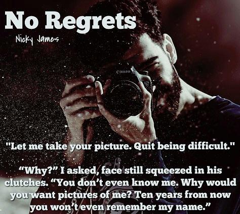 Nicky James - No Regrets Teaser 1