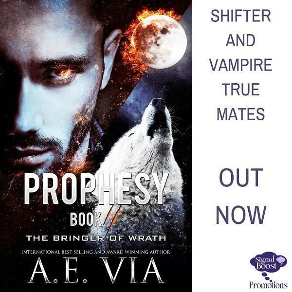 A.E. Via - Prophesy Book #2 The Bringer of Wrath INSTAPROMO-27