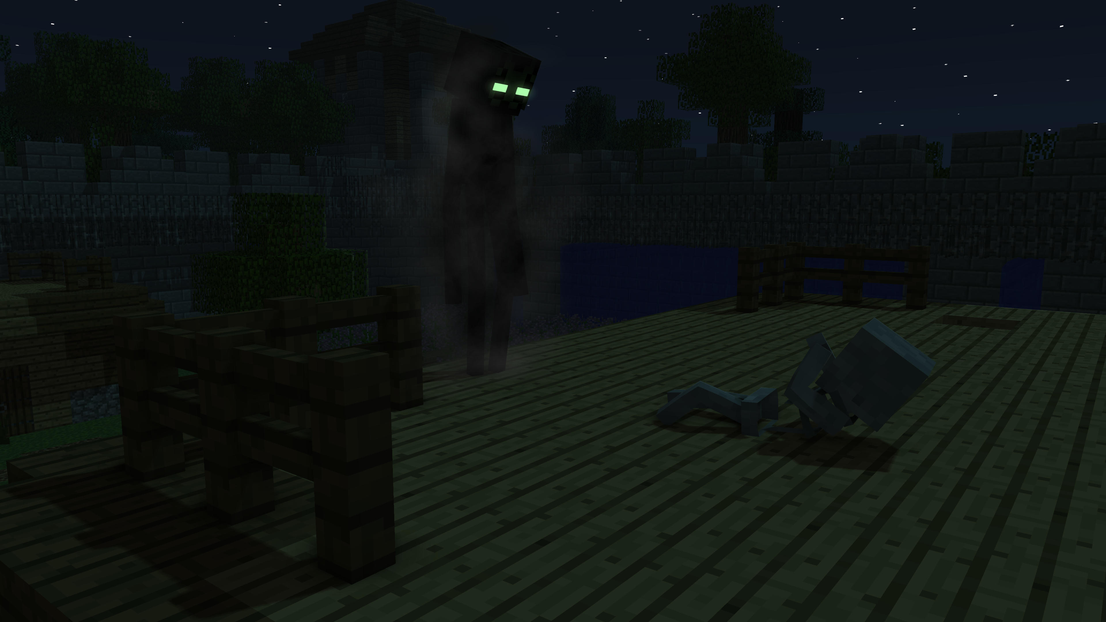 The Classic Enderman (Remake of my first public wallpaper ...