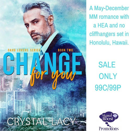 Crystal Lacy - Change For You INSTAPROMO