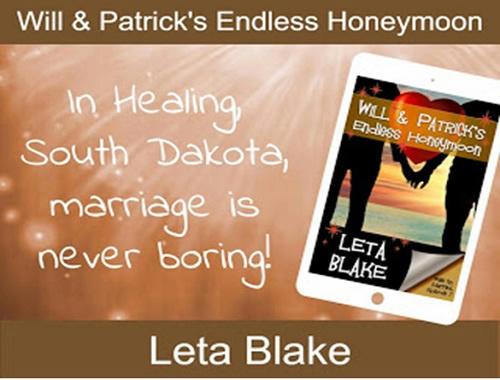 Leta Blake - Will & Patrick's Endless Honeymoon Promo